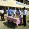 The Ahilan Foundation donated Photo copier to K/Pooneryn School